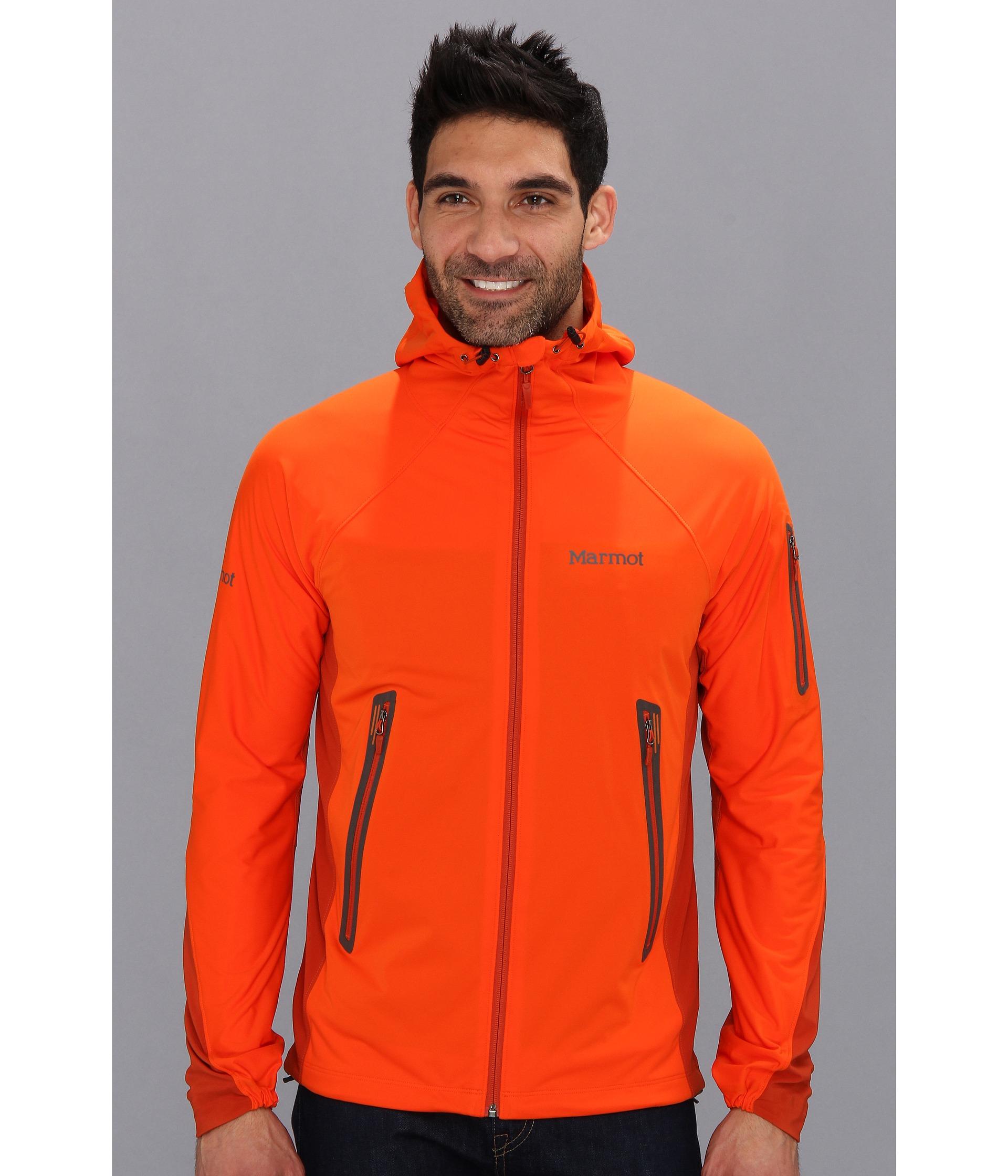 Marmot Vapor Trail Hoodie in Orange for Men | Lyst