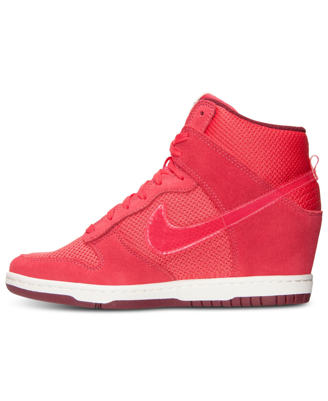 new concept 0f05a ae4de ... ireland lyst nike womens dunk sky hi essential casual sneakers from  957b1 d6957 ...
