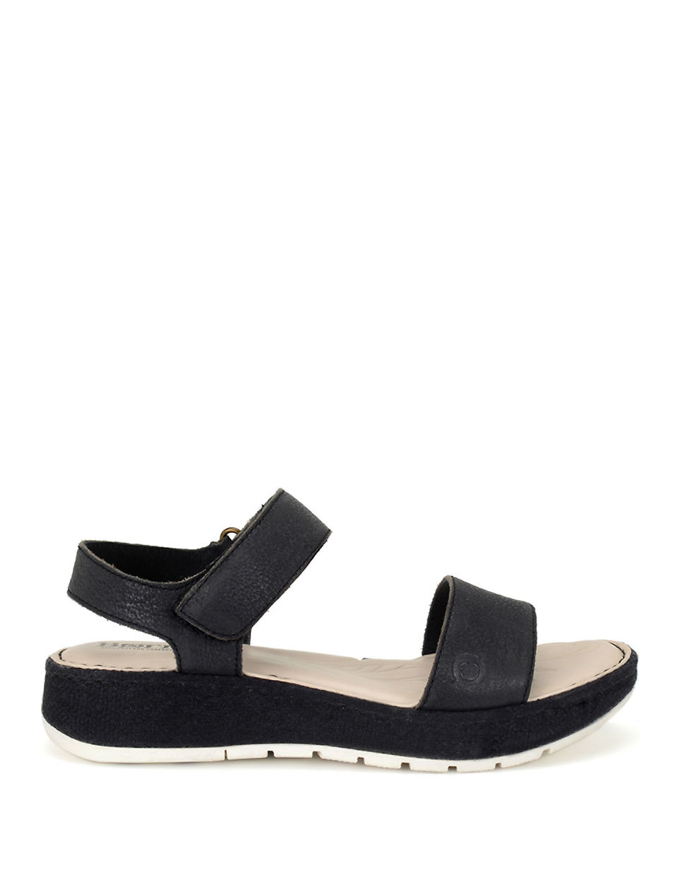 04c26d2785de Lyst - Born Petula Nubuck Sandals in Black