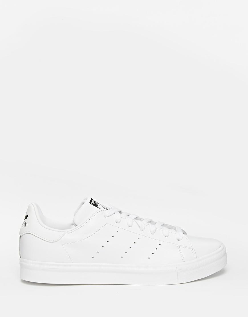adidas originals stan smith vulc white