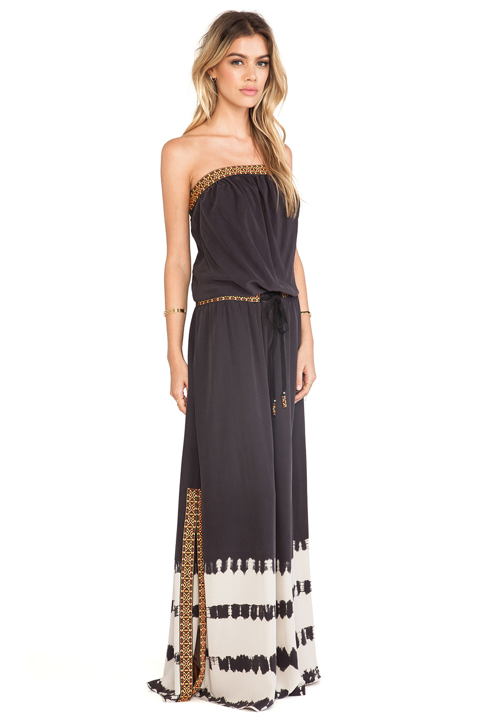 Gypsy 05 Cairo Tube Maxi Dress in Black | Lyst