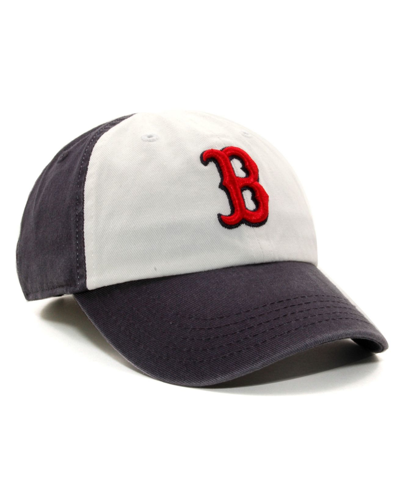 fa05a296ddd2b ... new zealand lyst 47 brand boston red sox hall of famer franchise cap in  blue 15475