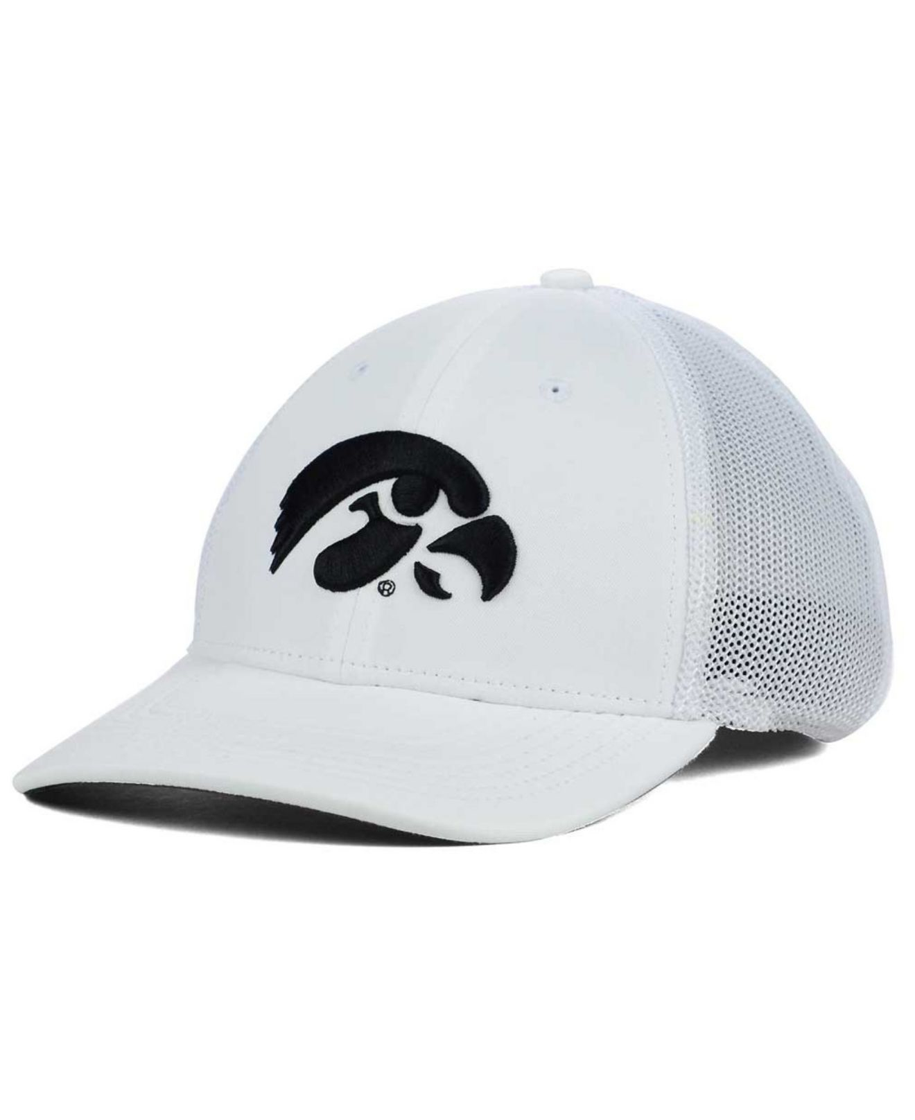d8d5d058b74 ... promo code for lyst nike iowa hawkeyes l91 mesh swoosh flex cap in  white for men