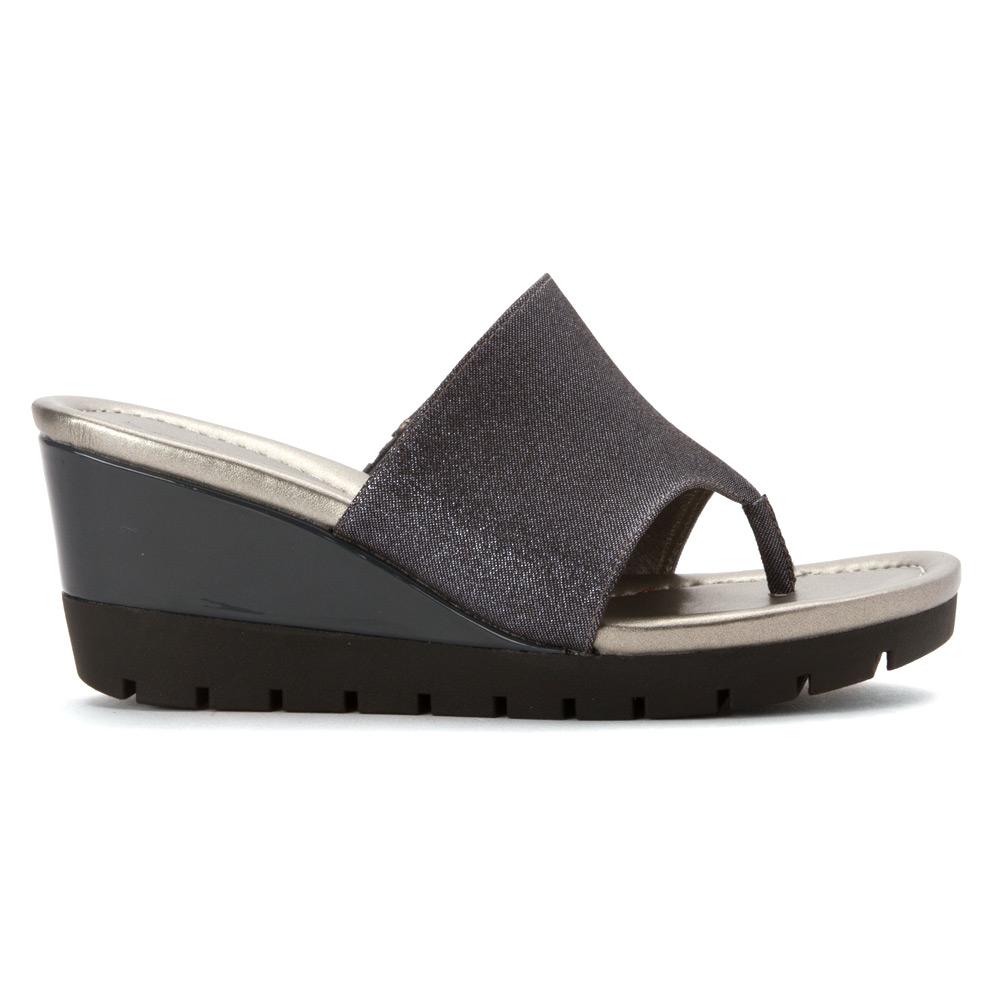 Factory Sale Bandolino Women's Meaddoe Womens Gold Bandolino Womens Sandals