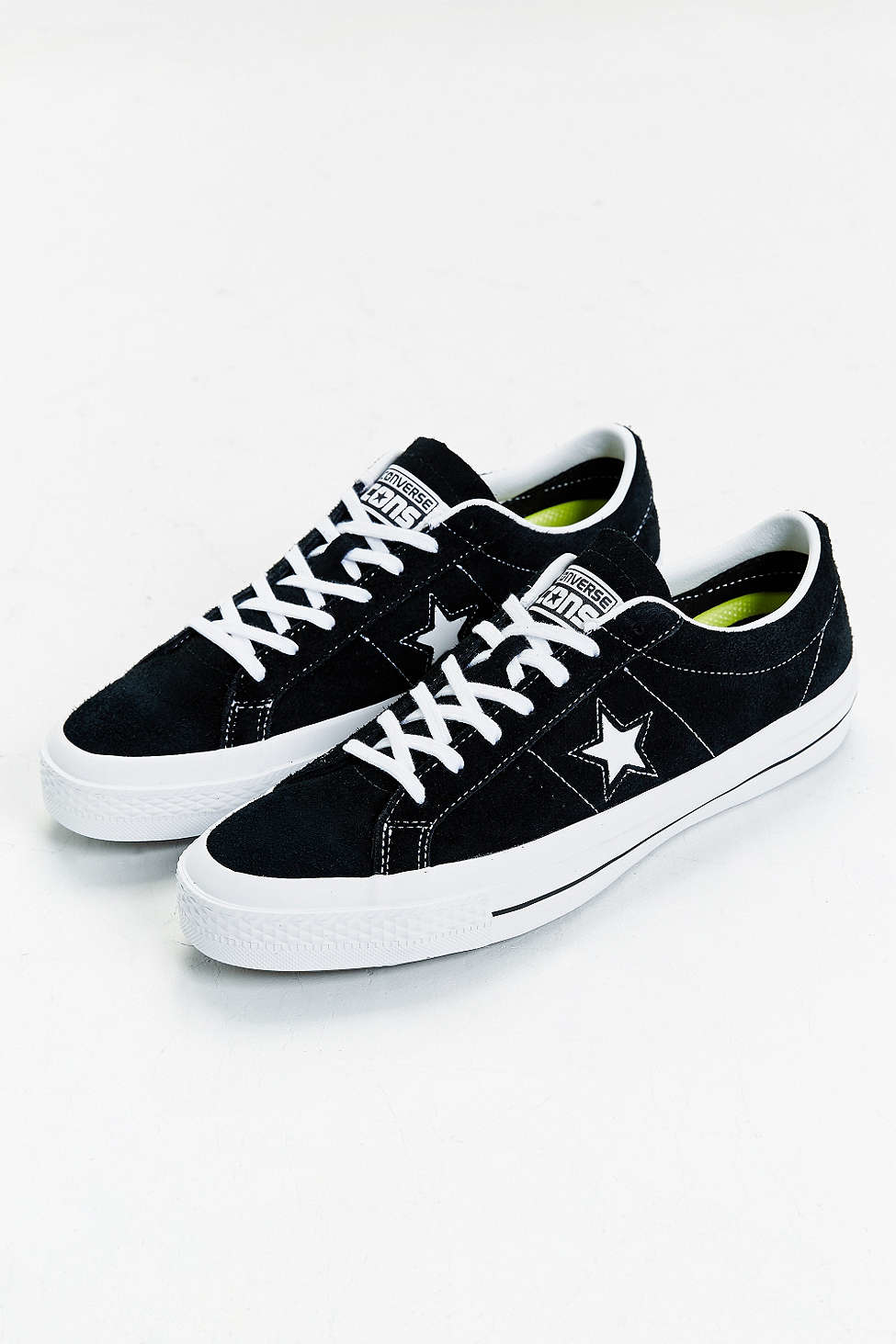 Converse Cons One Star Pro Sneaker In Black For Men Lyst