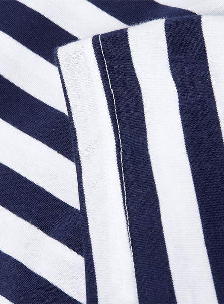 Mens Ralph Lauren Polo Stripe Short Sleeve T Shirts Navy