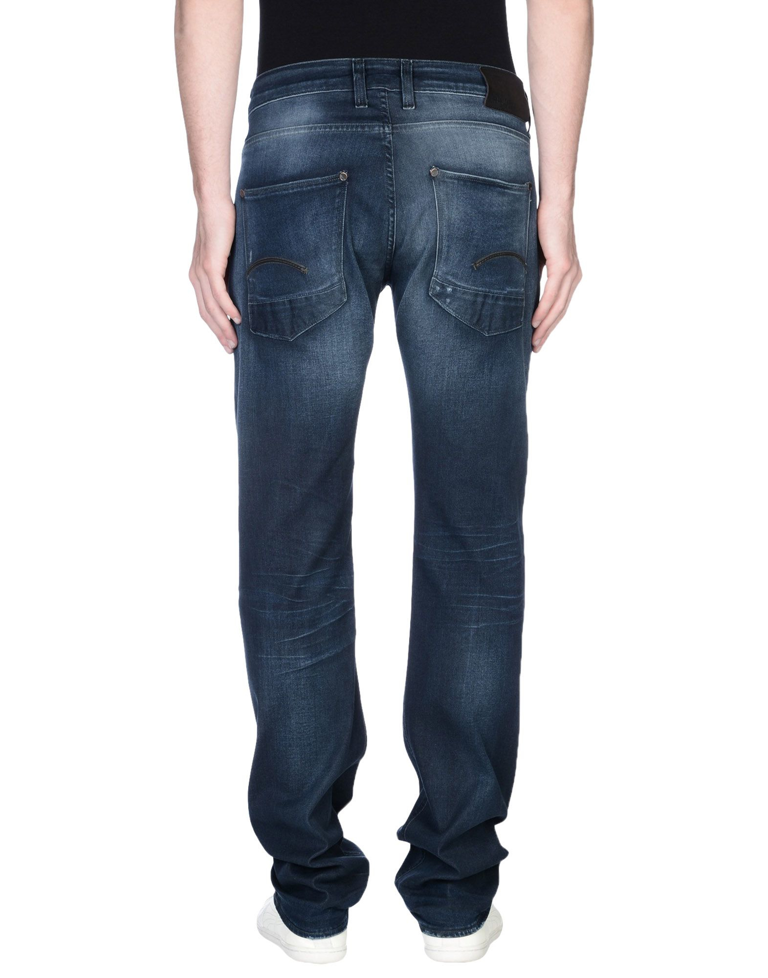 g star raw denim trousers in blue for men lyst. Black Bedroom Furniture Sets. Home Design Ideas