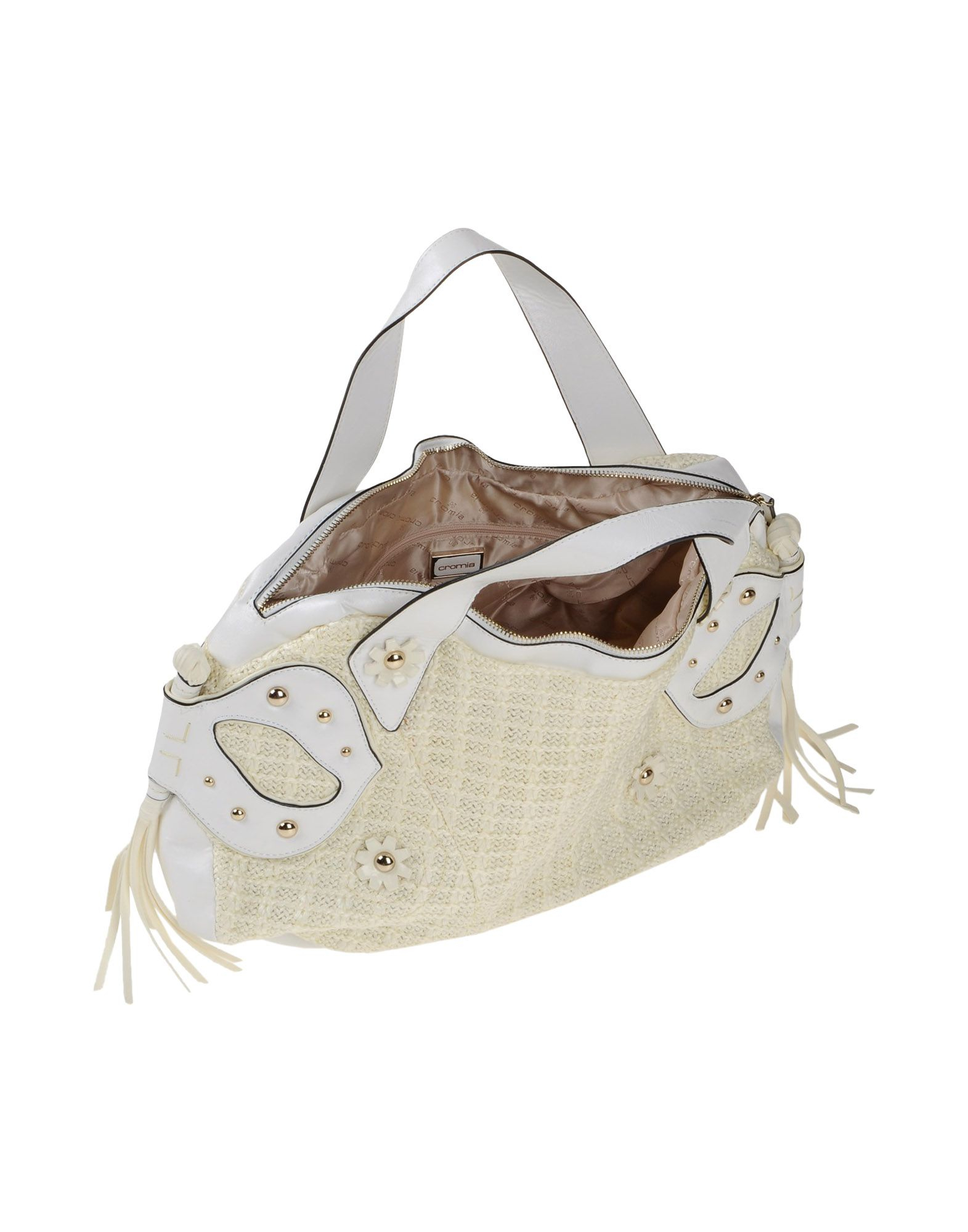 Crosia Handbags Latest Design : Cromia Handbag in White Lyst