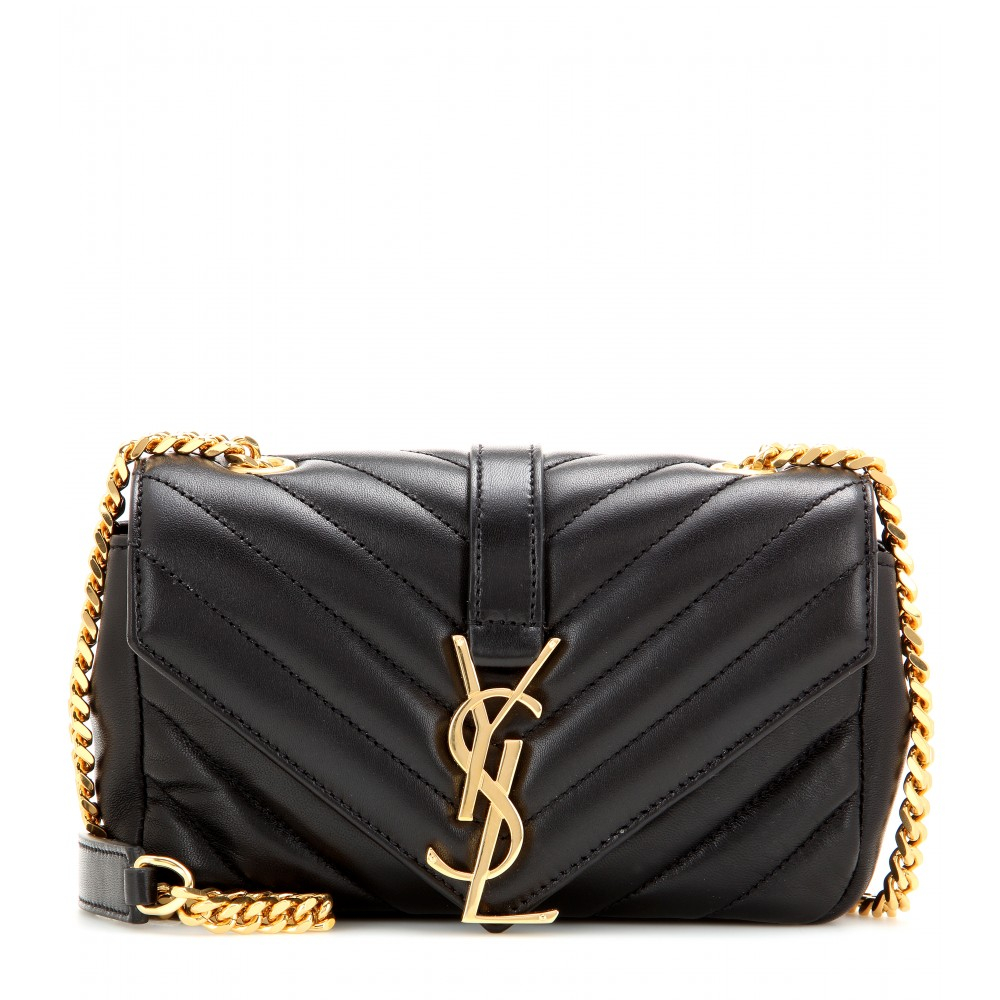 Saint Laurent Classic Monogramme Quilted-Leather Shoulder Bag in ... e6fe7c8a8
