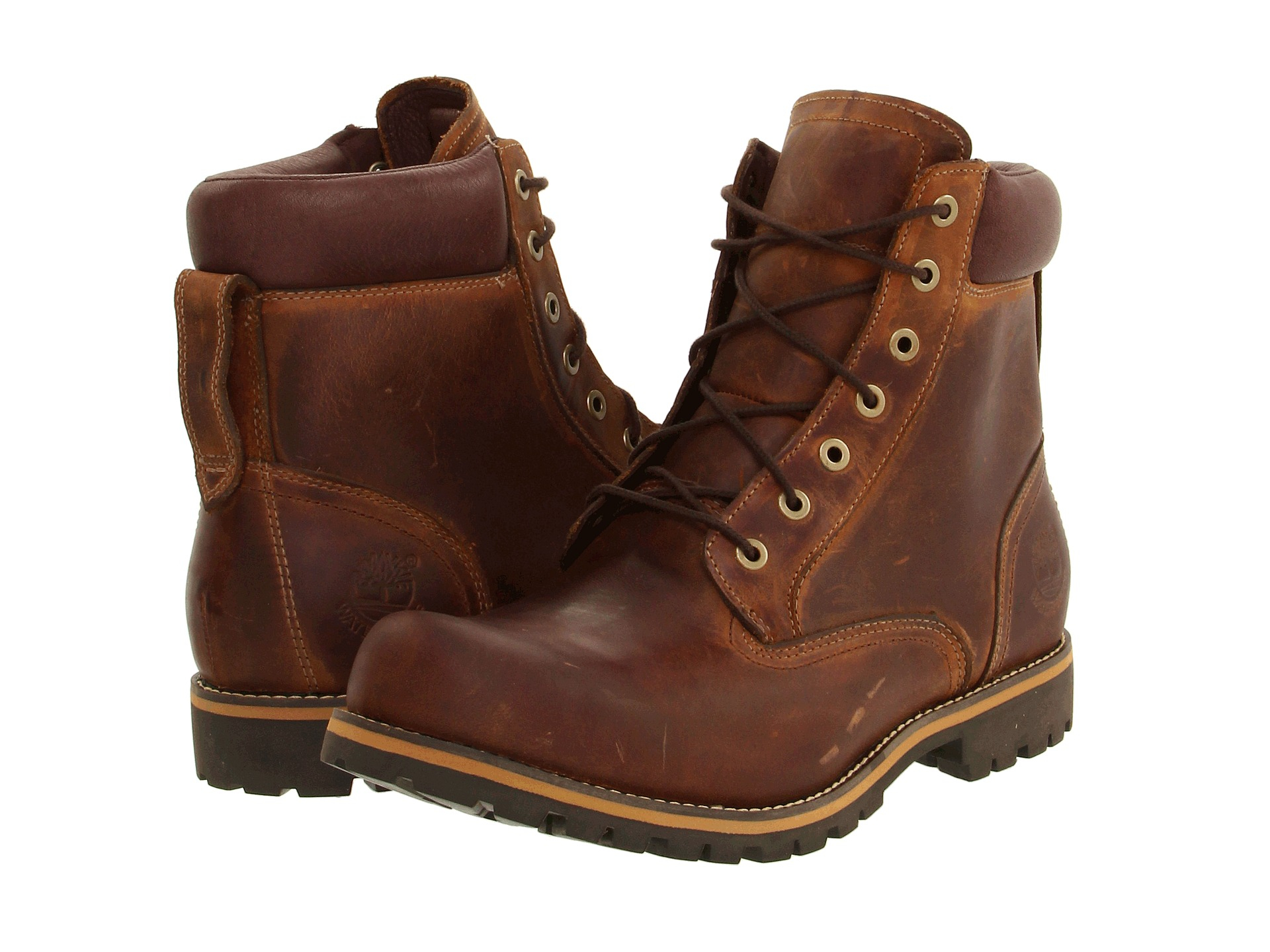 Timberland Earthkeepers 174 Rugged 6 Quot Boot In Brown For Men
