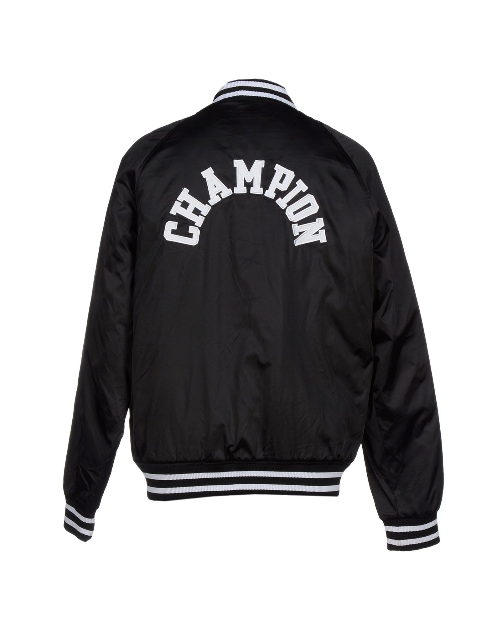 Lyst Champion Jacket In Black For Men