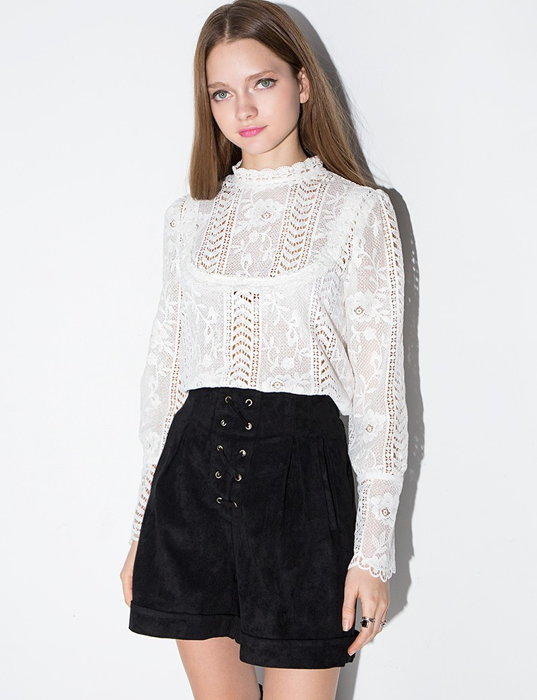 Own the room in a cute vintage-style lace top that can be easily dressed up or down. Shop ModCloth's collection of lace tops, & find your perfect fit today.