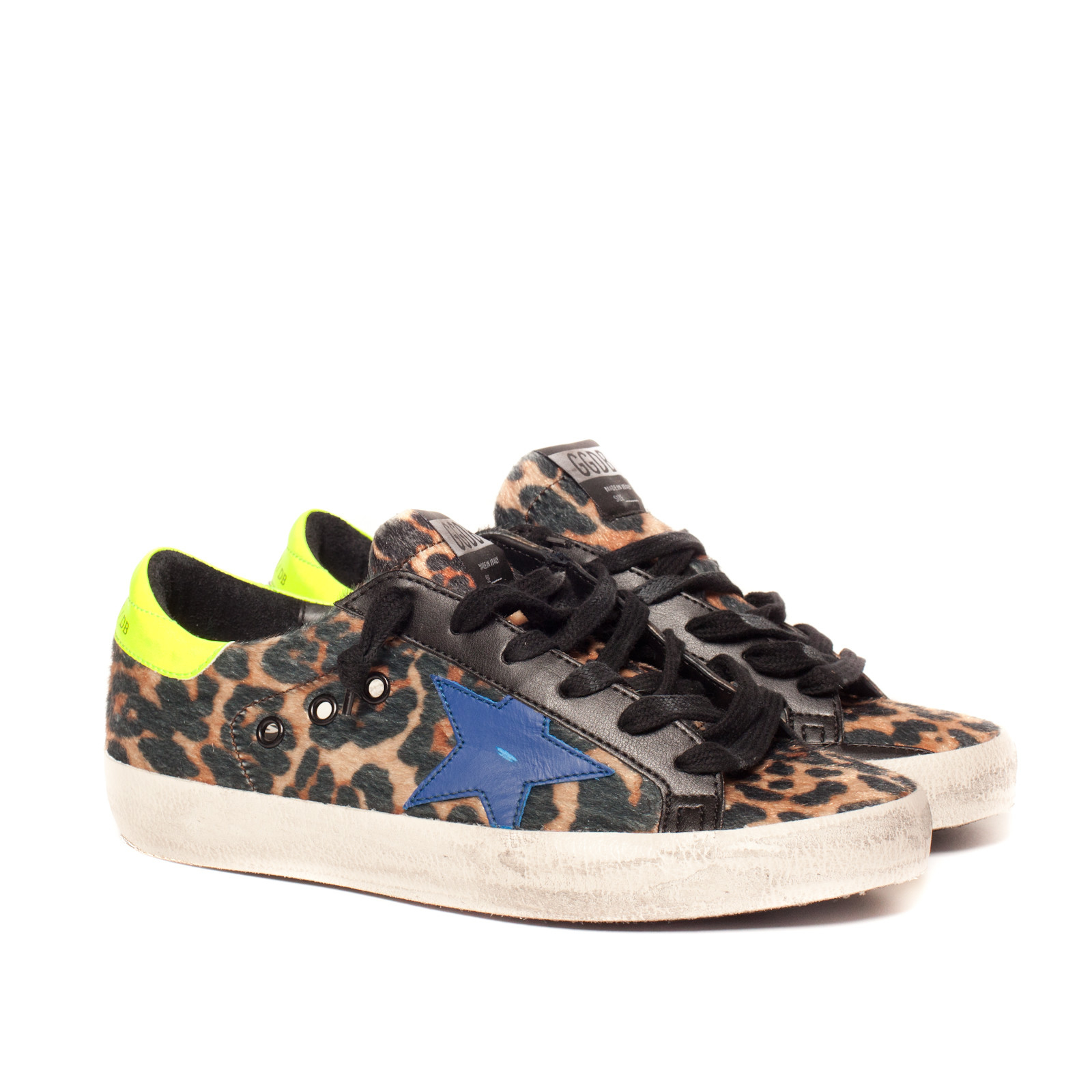 golden goose deluxe brand sneakers ss leopard ai 1516 in multicolor lyst. Black Bedroom Furniture Sets. Home Design Ideas