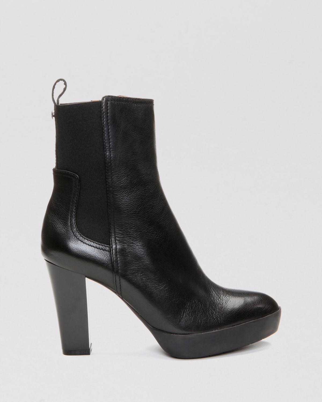 b9339cbc87b1 Lyst - Donald J Pliner Platform Booties - Milan2 High Heel in Black