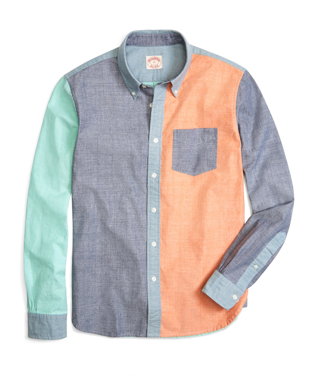 Lyst Brooks Brothers Chambray Fun Sport Shirt For Men