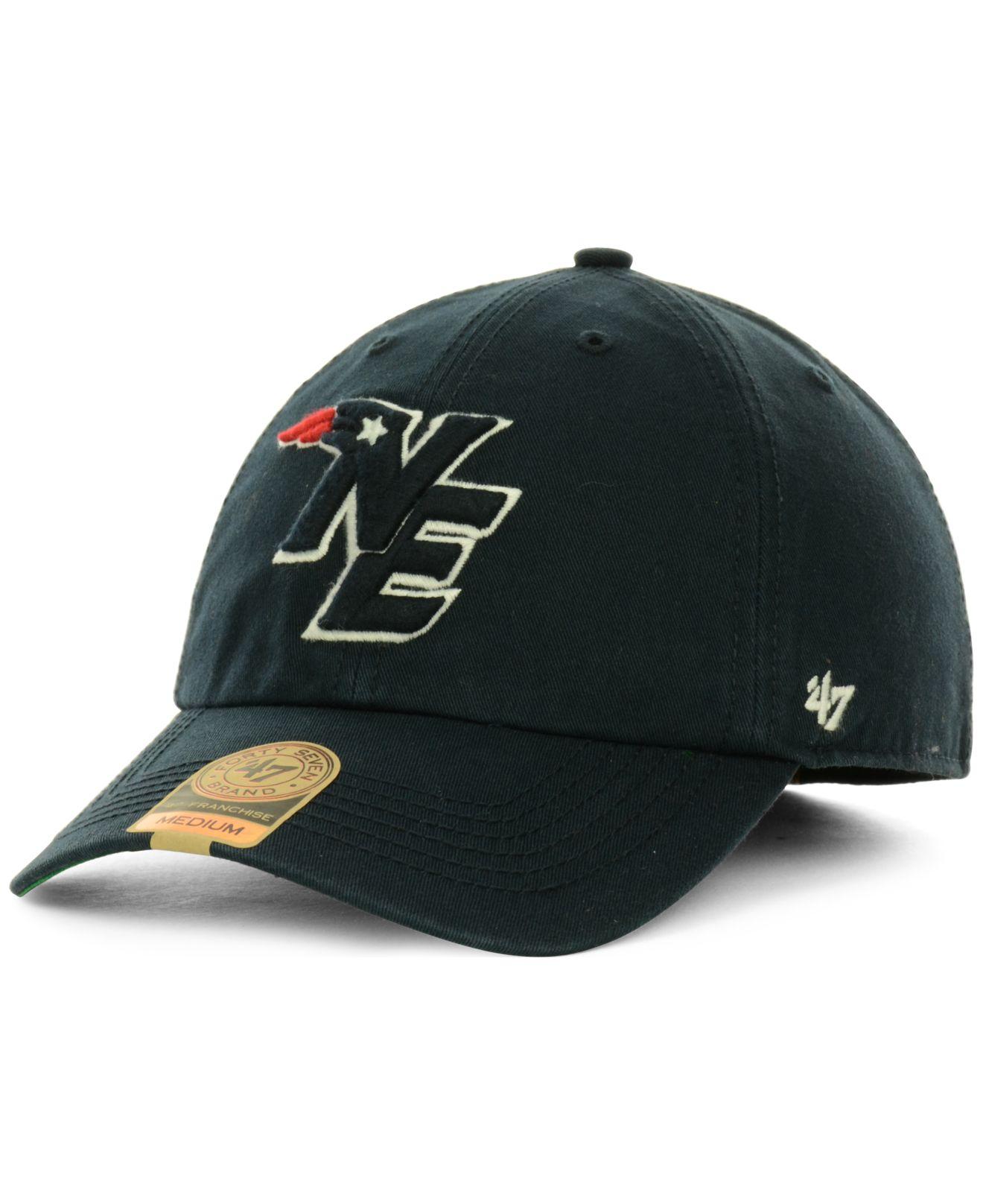0b7538ec8 Lyst - 47 Brand New England Patriots Franchise Hat in Blue for Men