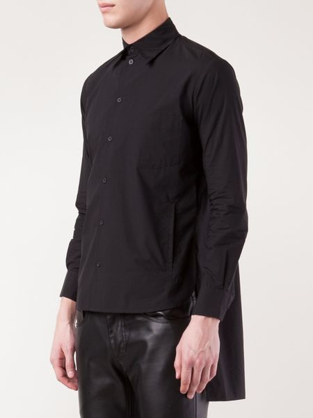 High Low Shirts For Men Men Y-3 3s High Low Shirt