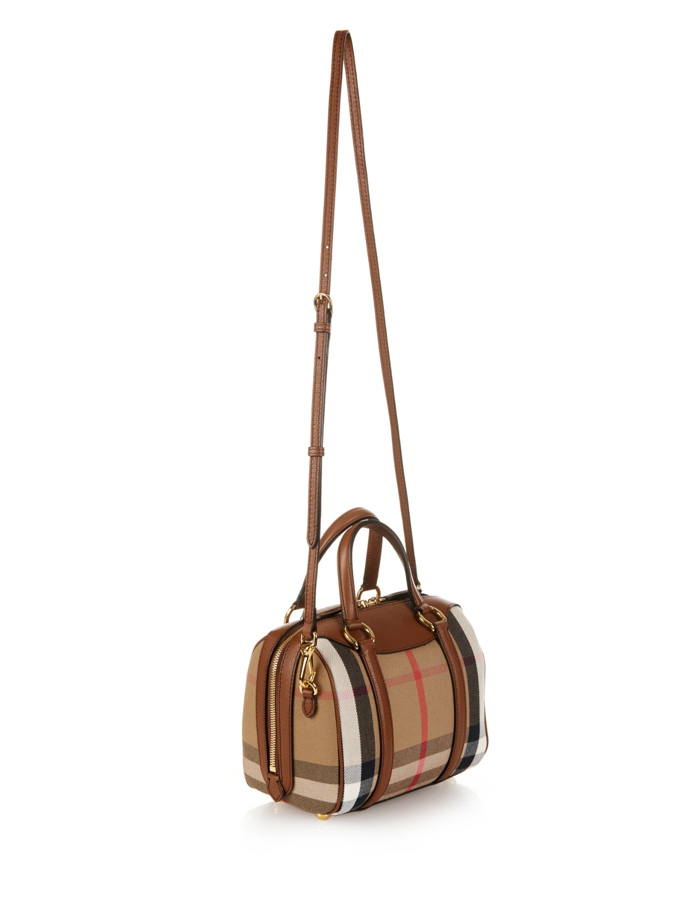 0ea049d5d85d Lyst - Burberry Small Alchester Cross-Body Bag in Brown
