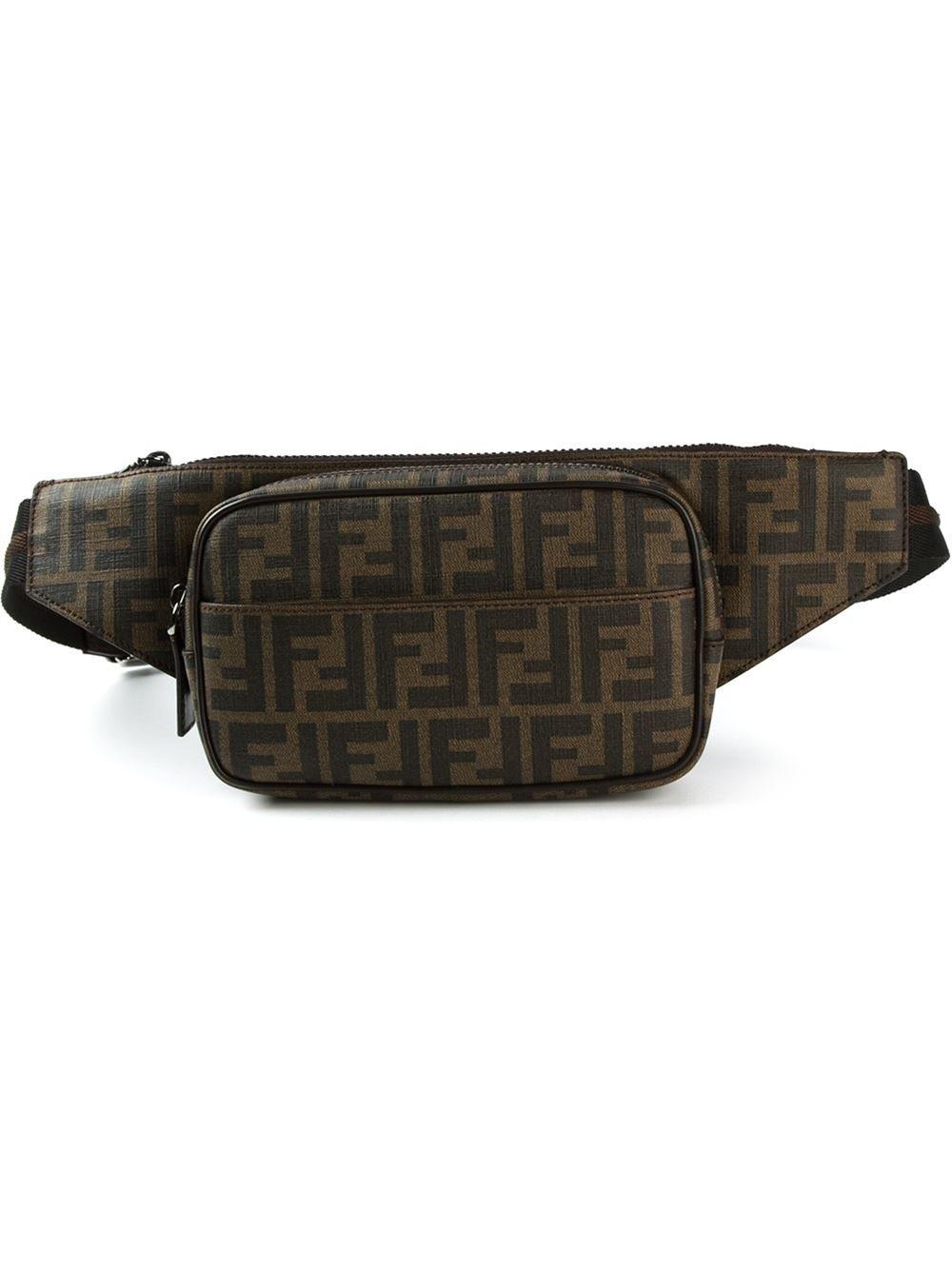 dd0df1bf9c11 ... norway lyst fendi zucca belt bag in brown for men 333db ab25e