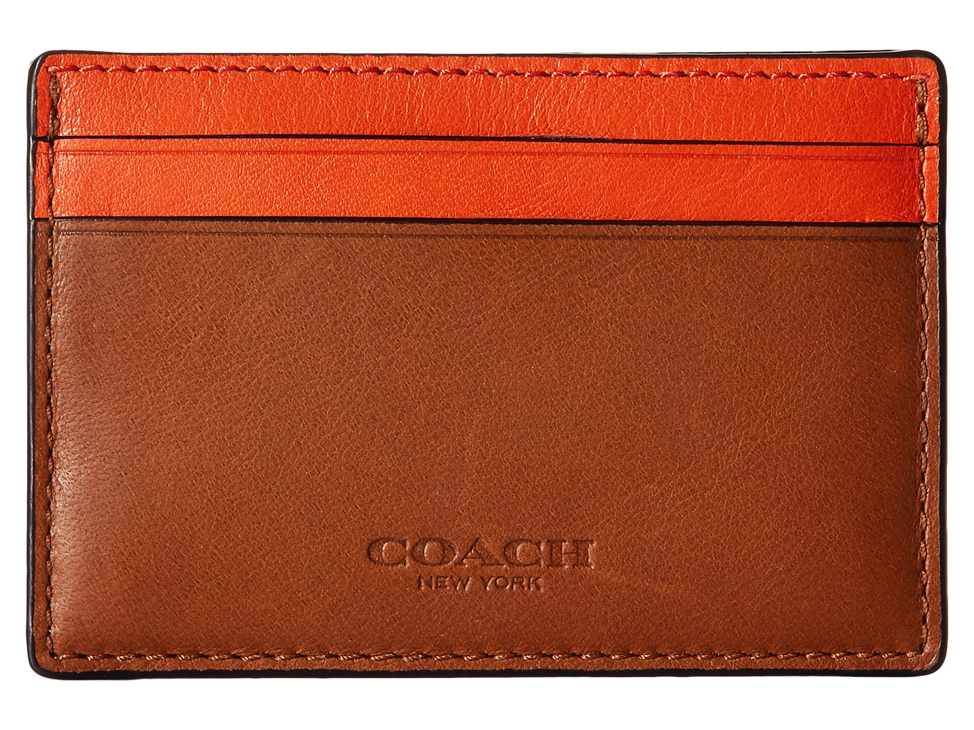 c79e100fa050e Lyst - COACH Id Card Case And Money Clip Set in Brown for Men