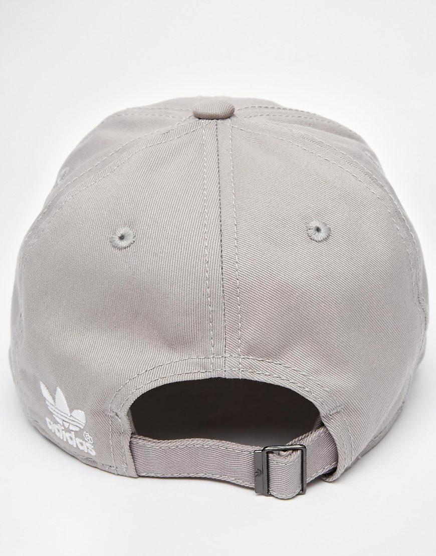 Lyst - adidas Originals Classic Snapback Cap in Gray for Men 7b949d64f93
