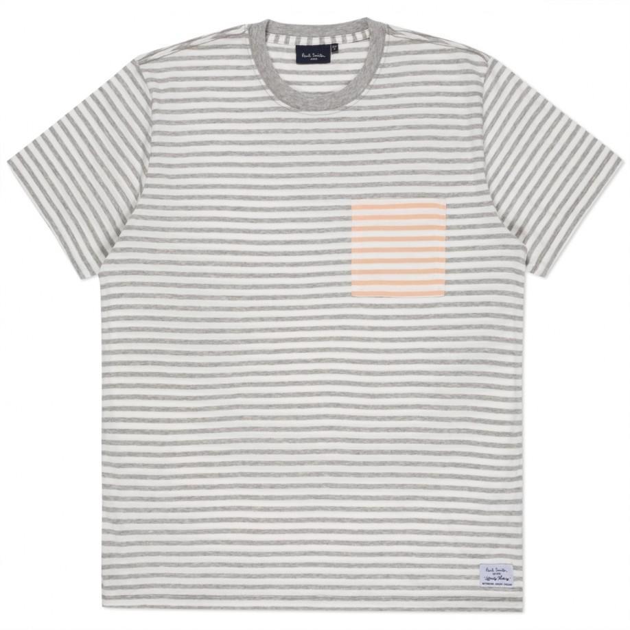 Grey Contrast Pocket T-Shirt Paul Smith Best Sale Best Authentic 0rZzfF