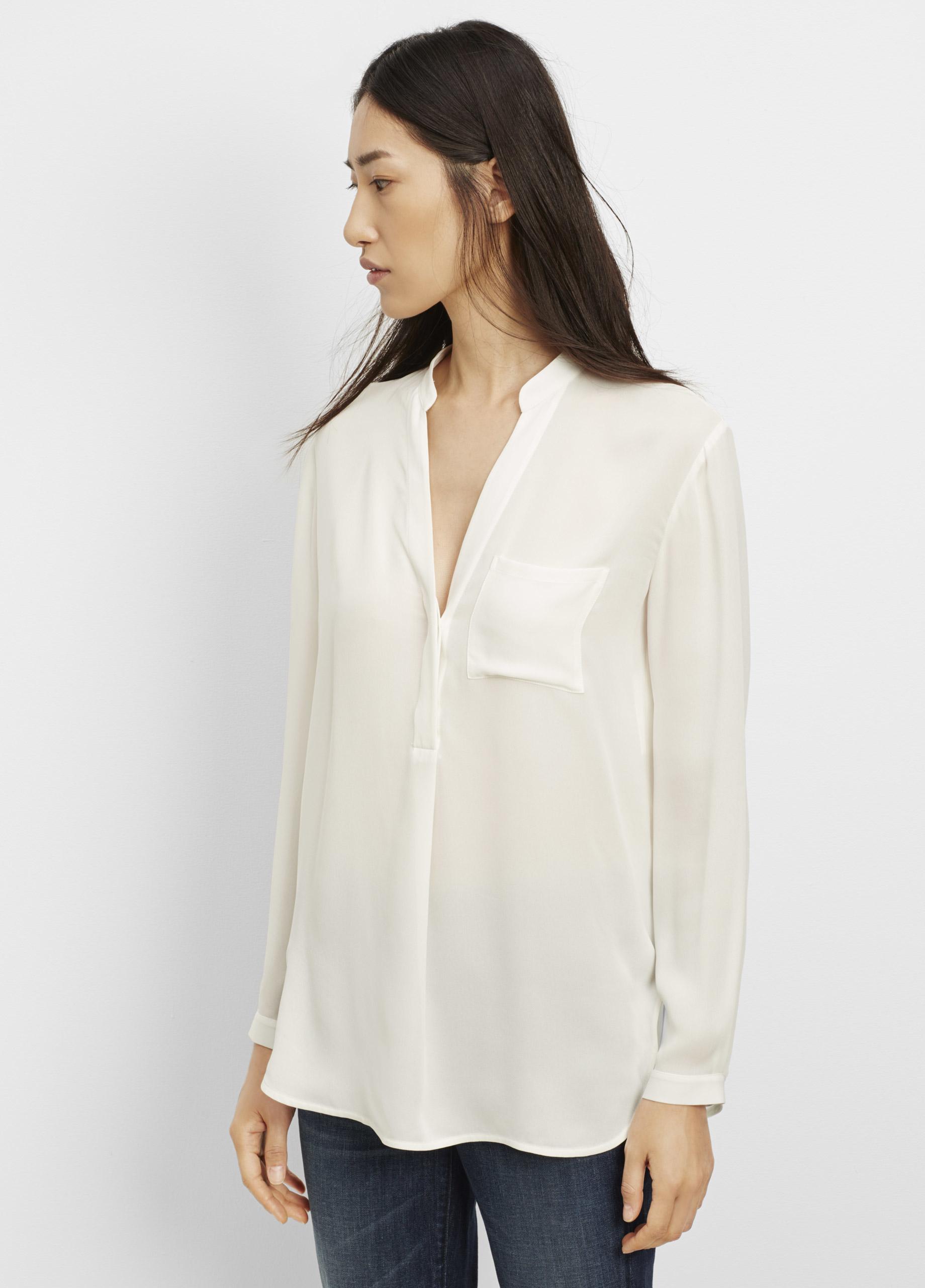 3adcbb68584cb Gallery. Women s Vince Popover Women s Bell Sleeved Shirts ...