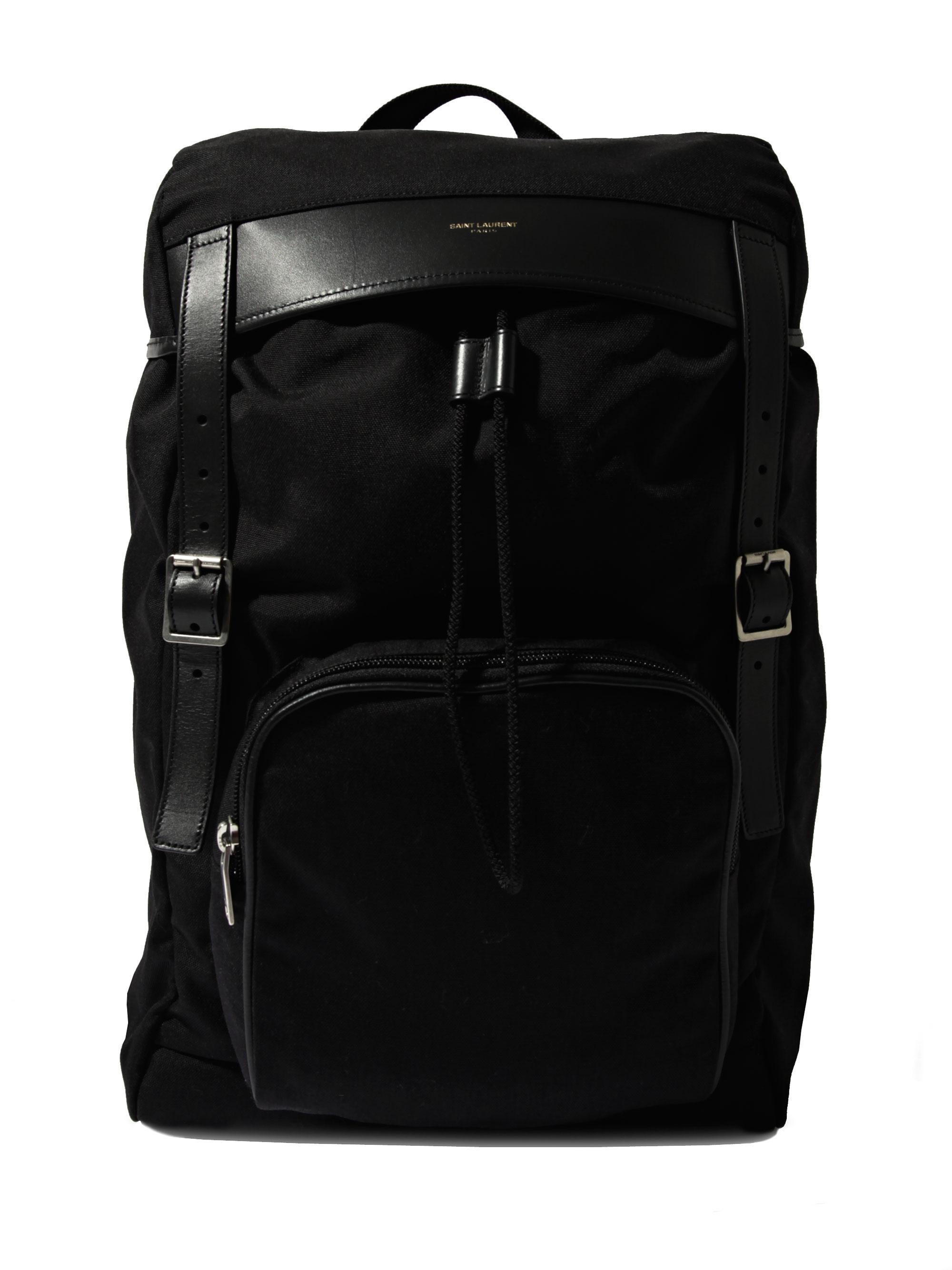 2aa94280c7dc Saint Laurent Bag Mens. Lyst - Saint Laurent Black Leather Vavin Duffel ...