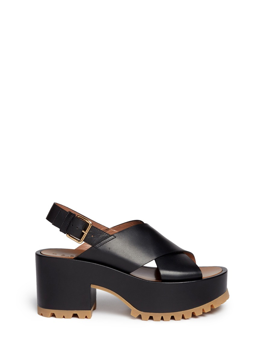 buy cheap discounts Marni slingback wedge sandals best wholesale cheap price huge surprise for sale vTM7XnyU