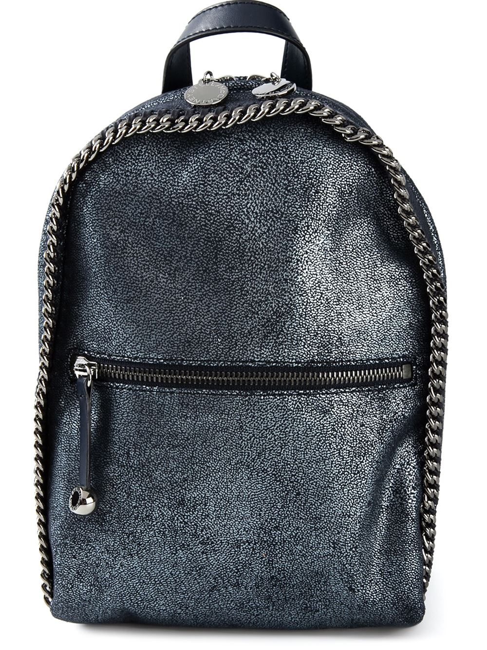 stella mccartney 39 falabella 39 backpack in blue lyst. Black Bedroom Furniture Sets. Home Design Ideas