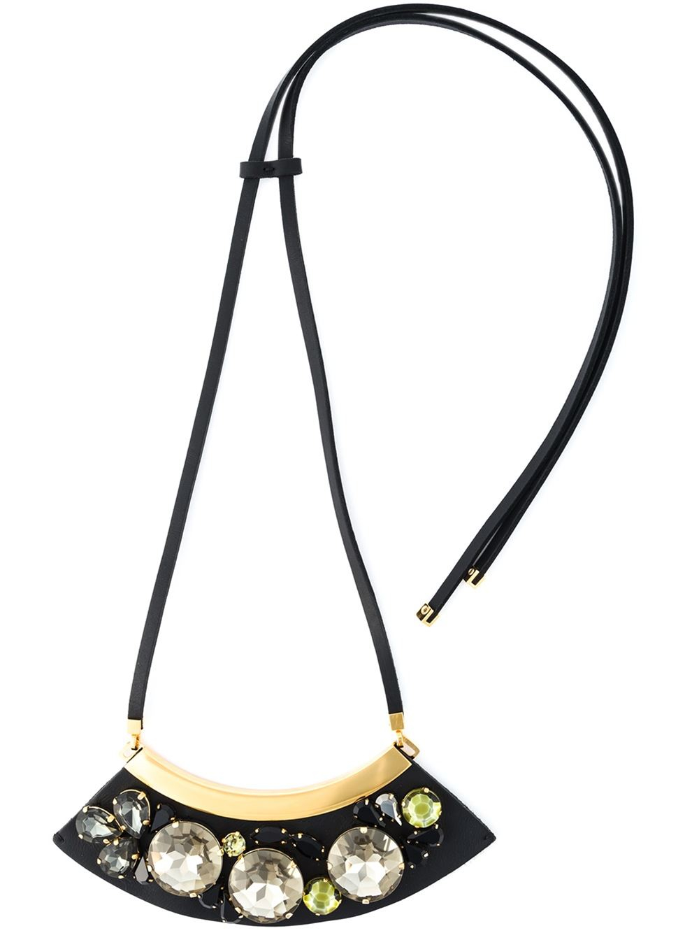 Express your unique style with Marni necklaces. Strikingly remarkable and refreshingly original, Marni jewel pieces are the choice of contemporary women with a rebellious attitude and non-conformist spirit.