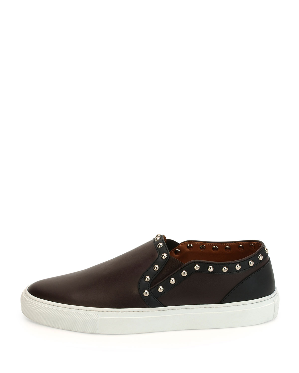 givenchy studded skate shoe in black for lyst