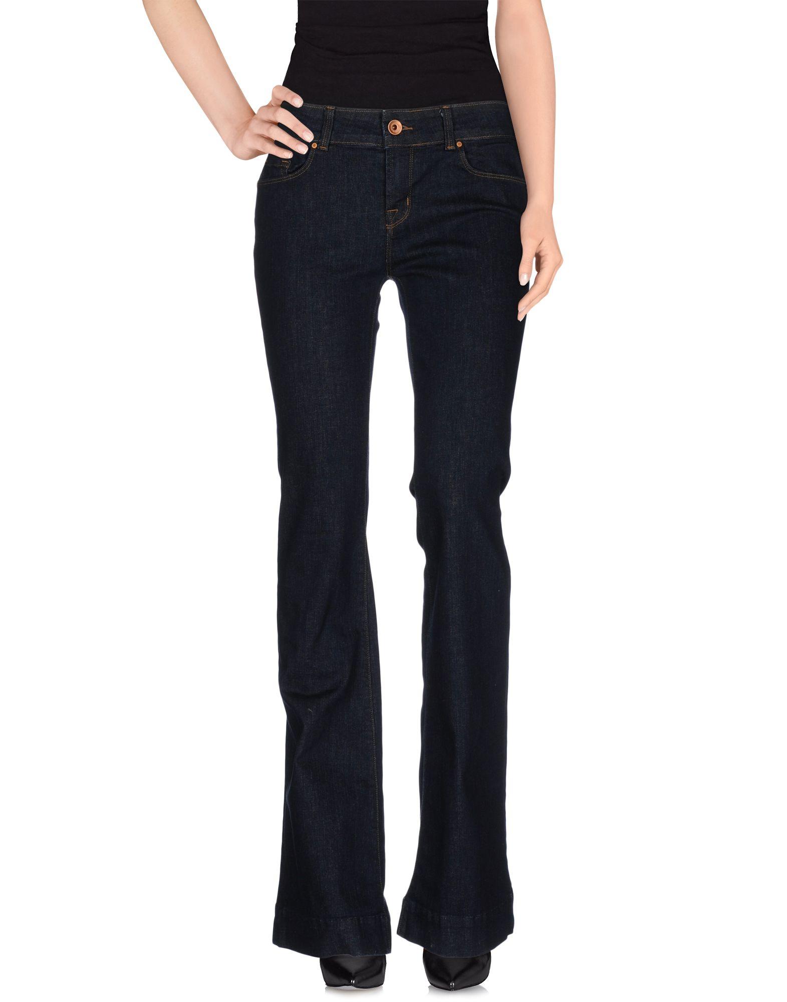 j brand denim trousers in blue save 57 lyst. Black Bedroom Furniture Sets. Home Design Ideas