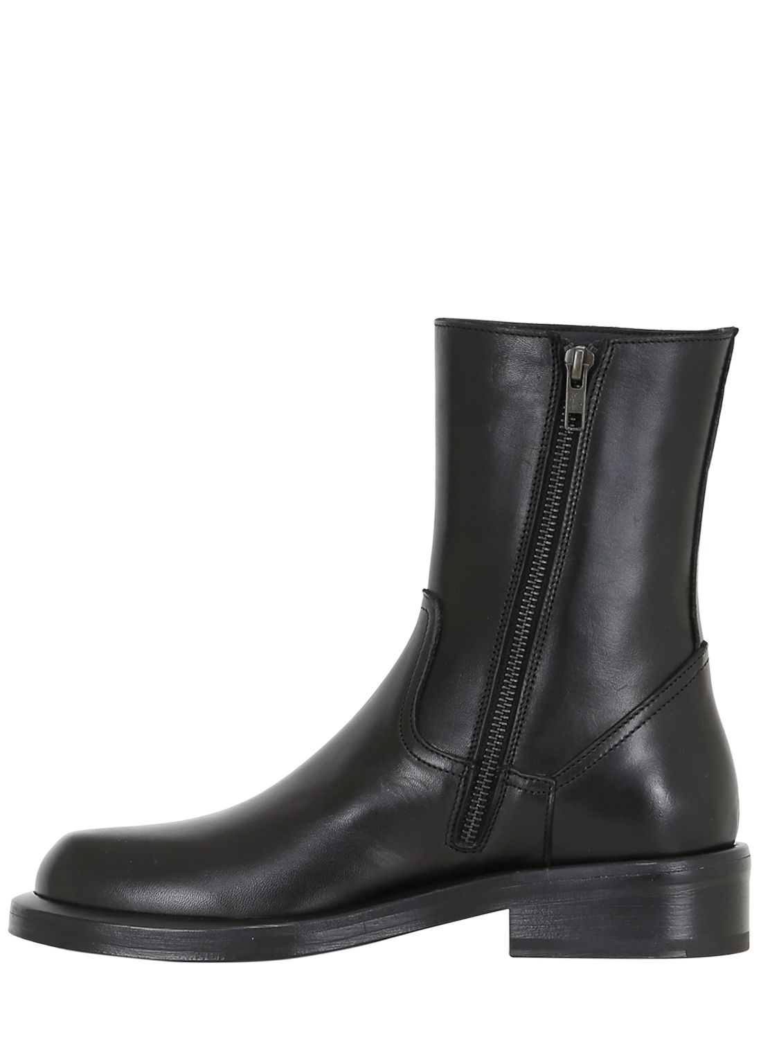 Ann Demeulemeester Black Heeled Ankle Boots x1QiNel