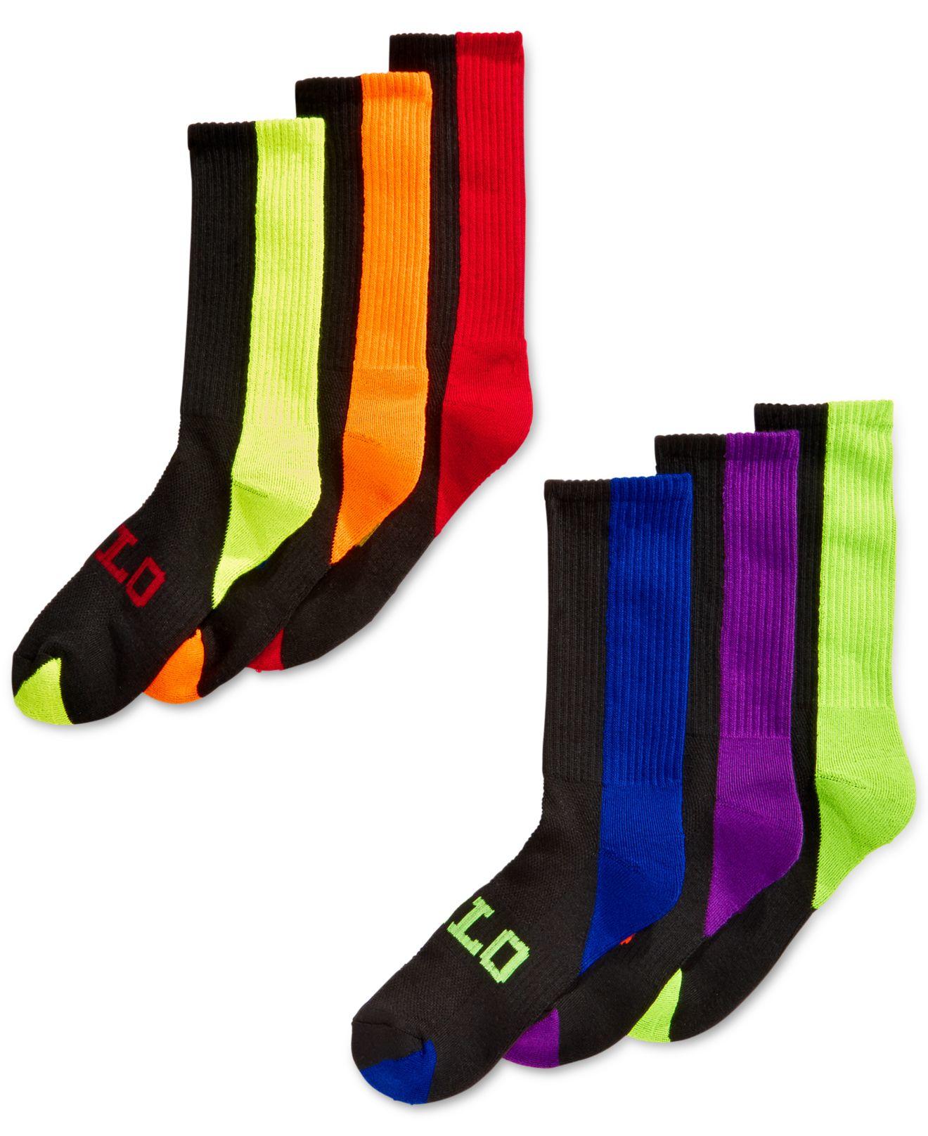 ralph Socks 6 Pack Sconti Online Lauren Negozio Di 0wN8nvm