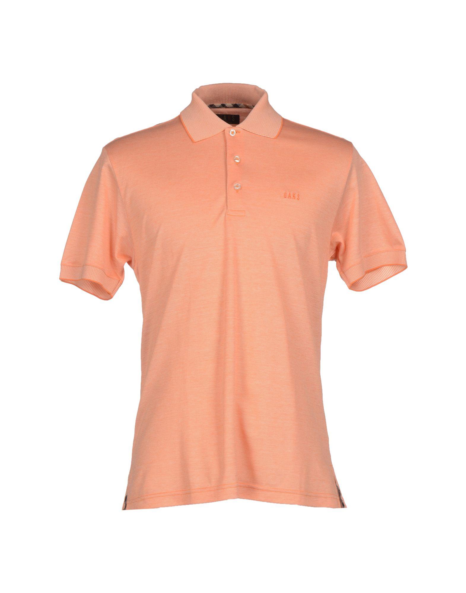 Daks Polo Shirt In Orange For Men Lyst