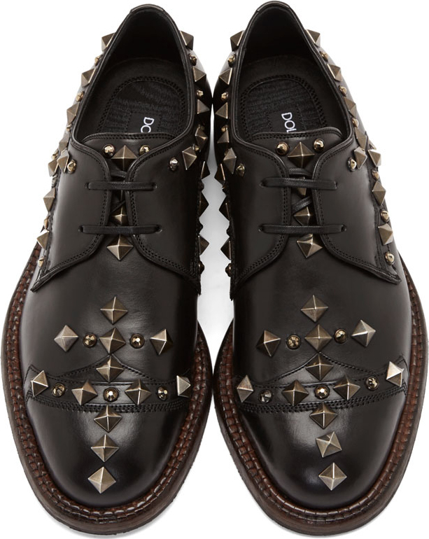 Dolce & Gabbana Studded Derby shoes XsZJljEJ