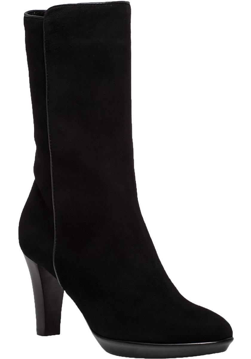 aquatalia raia water resistant suede boots in black lyst