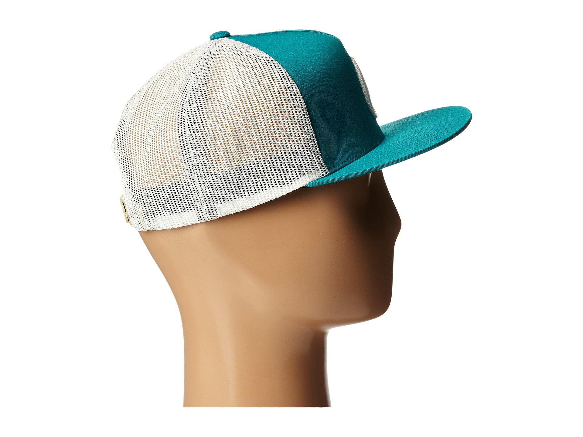Lyst - Nixon Deep Down Trucker Hat in Blue for Men 5e3b489a695