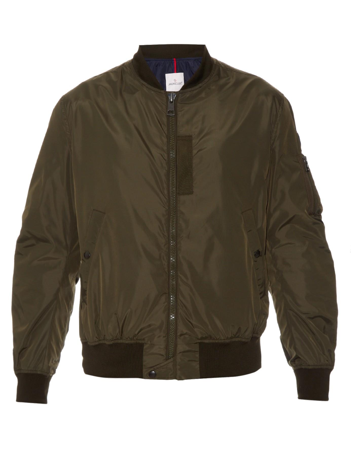 moncler olive green jacket