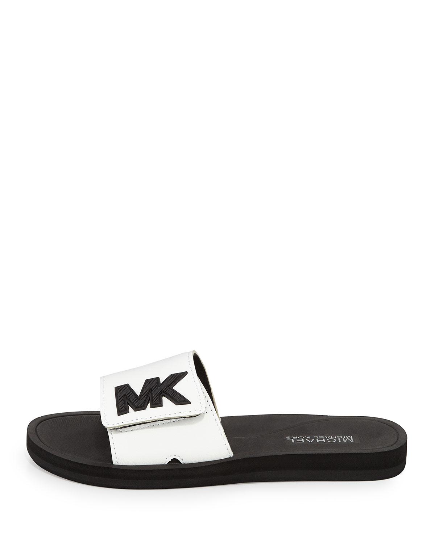 MICHAEL Michael Kors MK Slide Sandal bLXRwWgZoJ