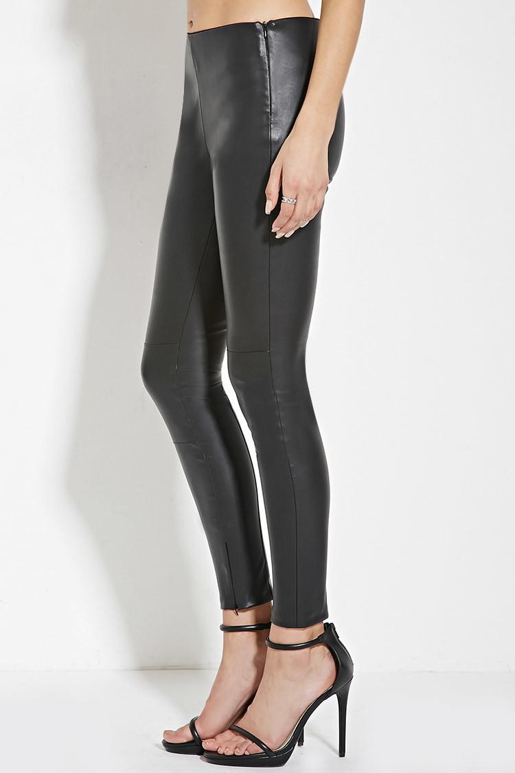 Original Women39s Faux Leather Pants Women39s Leather Leggings