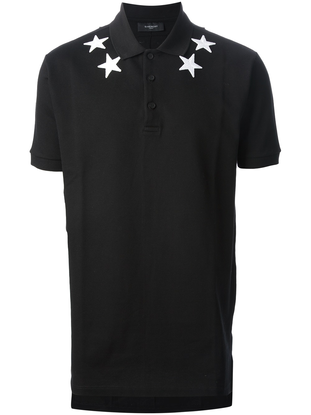 givenchy classic polo shirt in black for men lyst. Black Bedroom Furniture Sets. Home Design Ideas