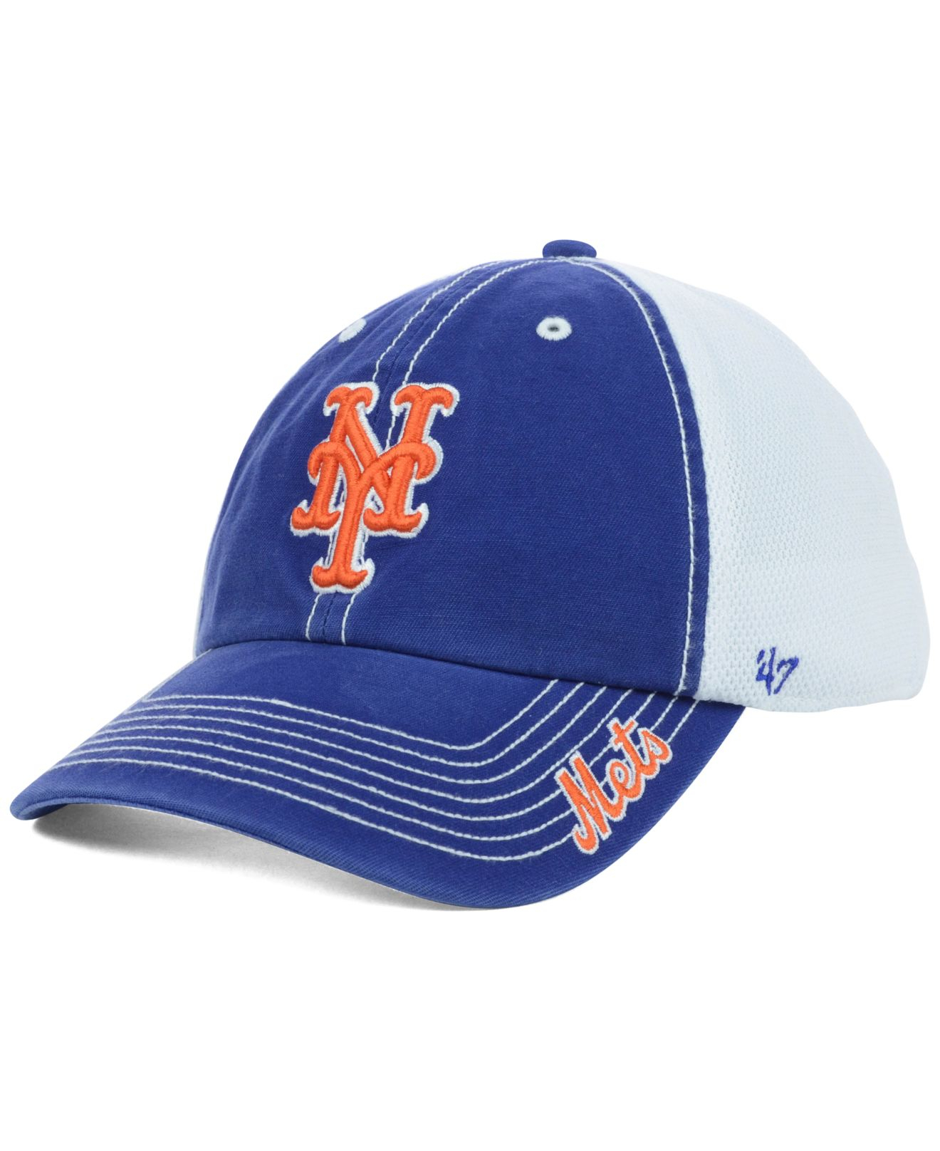 f1ed8a775 Lyst - 47 Brand New York Mets Mlb Ripley Cap in Blue for Men