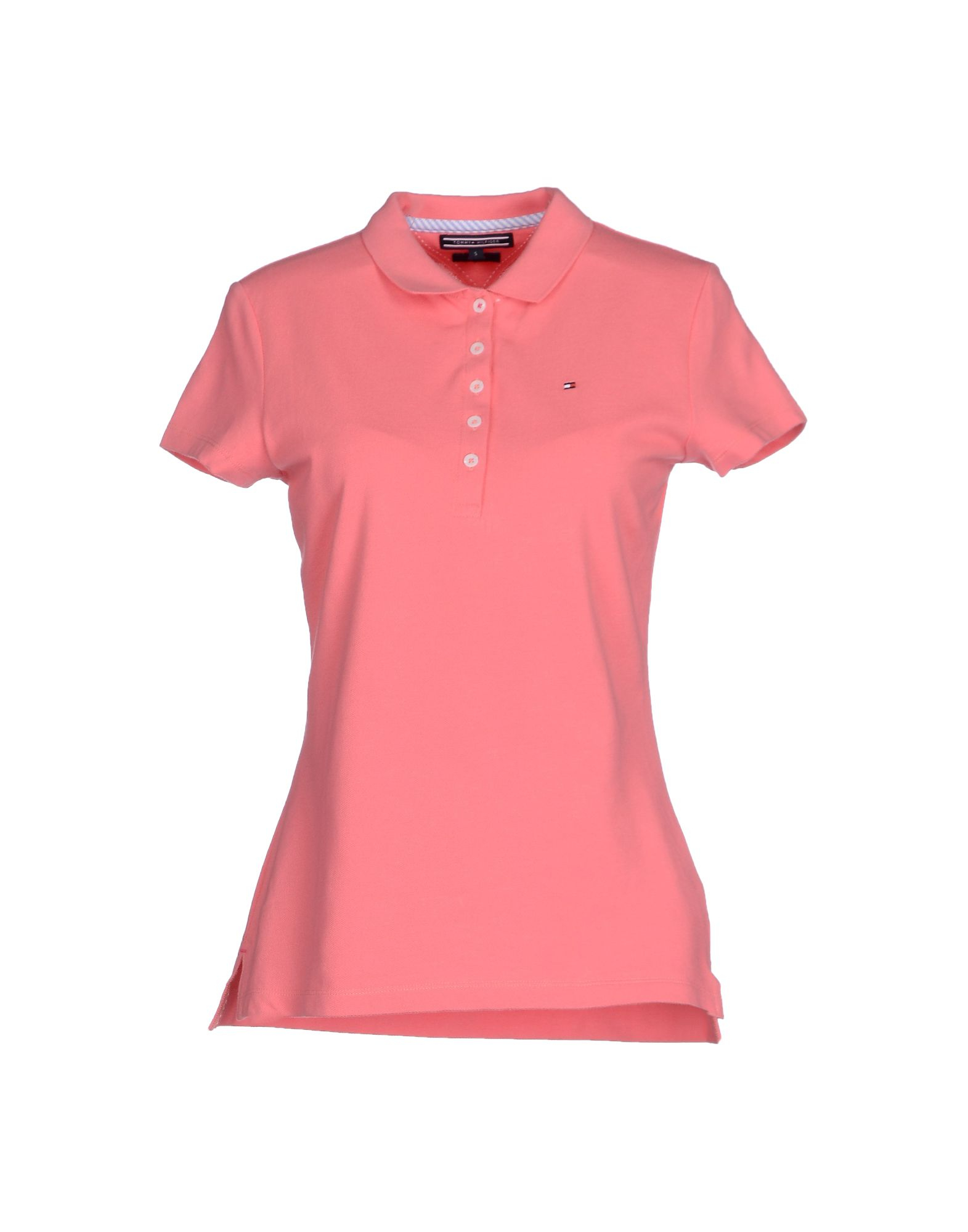 tommy hilfiger polo shirt in pink lyst. Black Bedroom Furniture Sets. Home Design Ideas