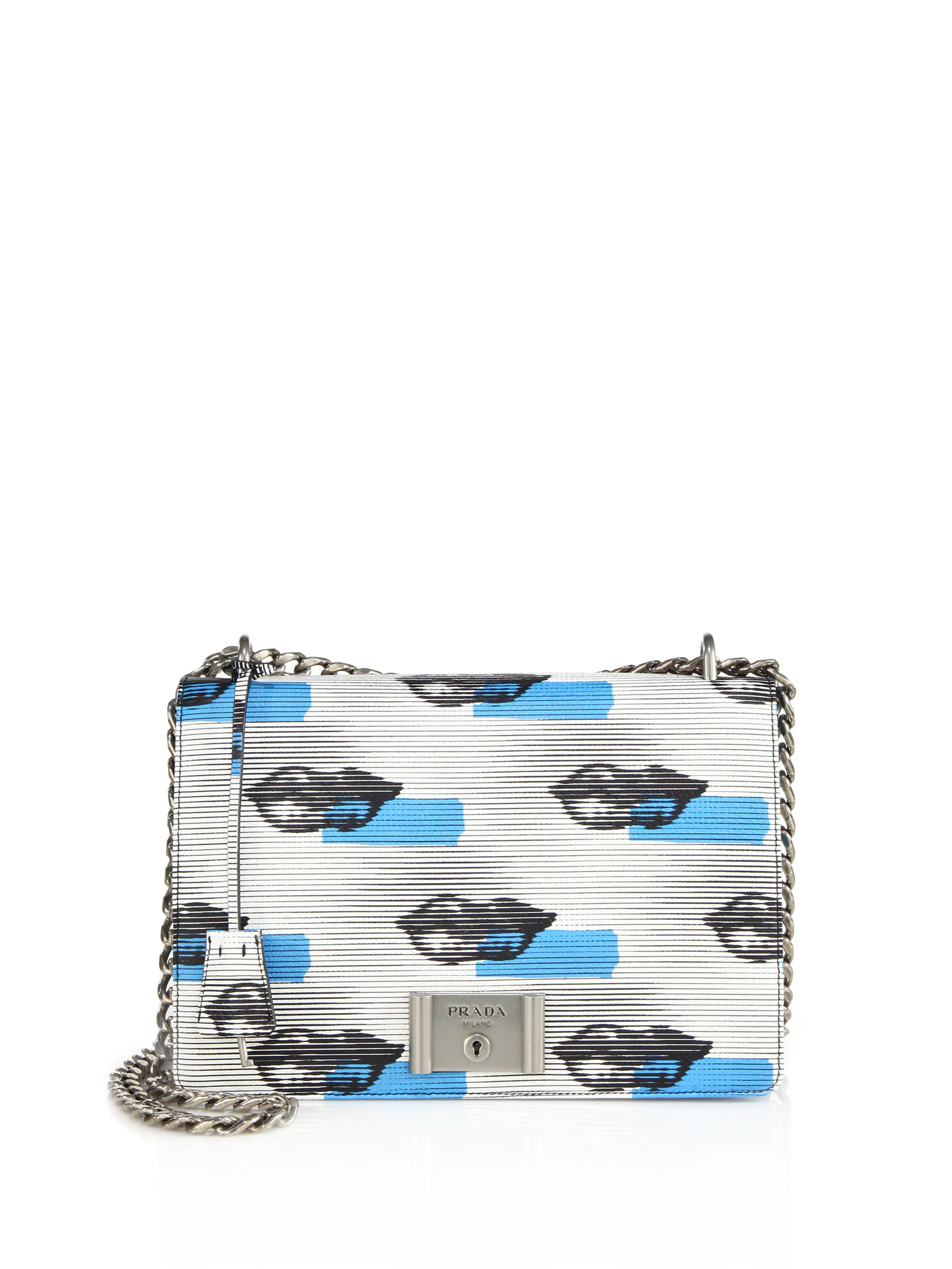 prada white shoulder bag