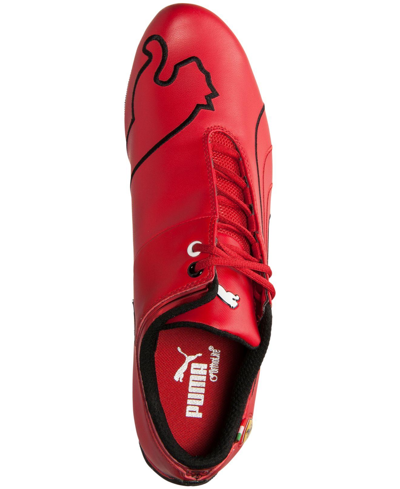 b4678ee28b5abb Lyst - PUMA Men s Future Cat M1 Sf Ferrari Casual Sneakers From Finish Line  in Red for Men
