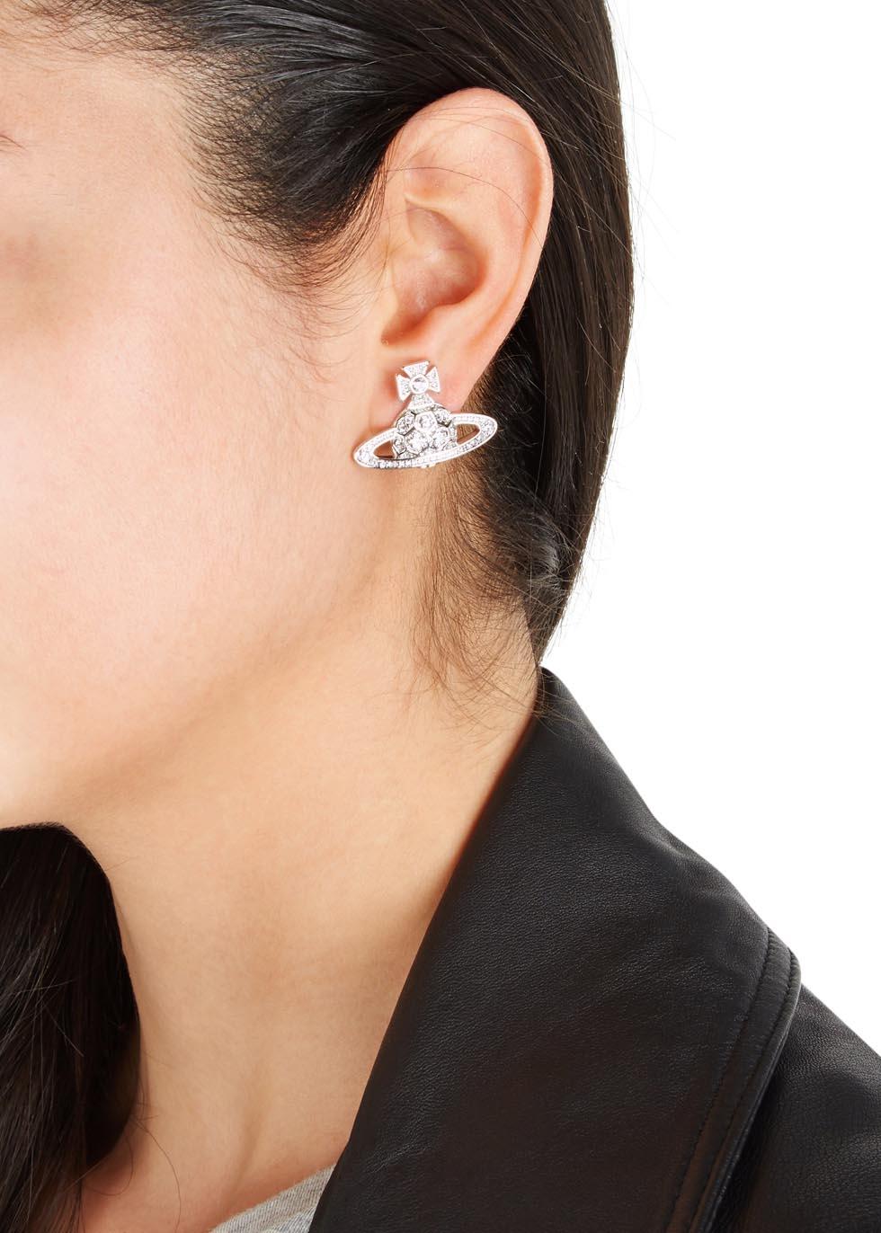 07e52b93f3f74f Vivienne Westwood Thalia Bas Relief Orb Earrings in Metallic - Lyst