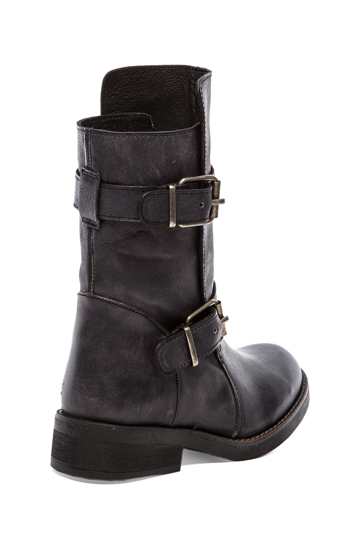 steve madden caveat boot in black in black lyst