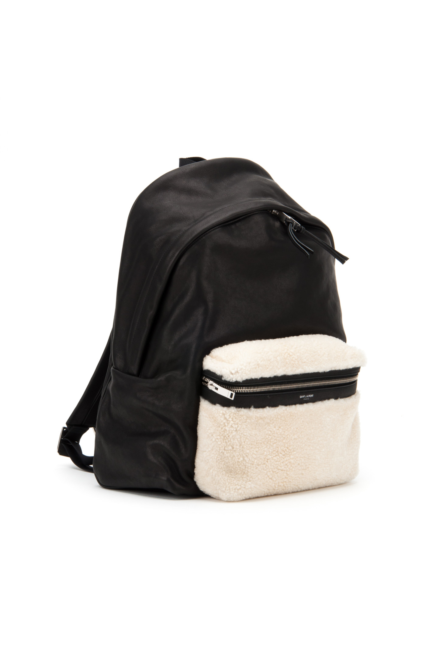 Saint laurent Ysl Delave Hunting Line Tuscany Backpack in Black ...